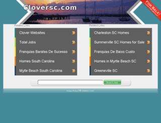 cloversc.com screenshot