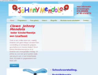clown-johnnymendola.com screenshot