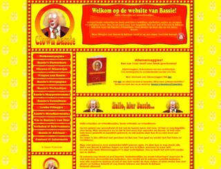 clownbassie.nl screenshot