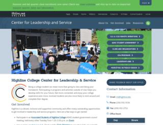 cls.highline.edu screenshot
