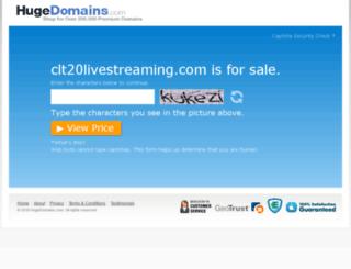 clt20livestreaming.com screenshot