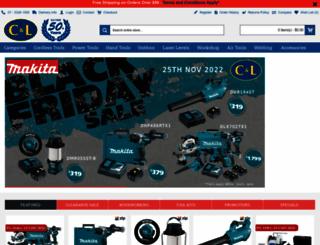 cltoolcentre.com.au screenshot
