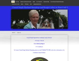 cluainultaighshetlandsheepdogs.com screenshot