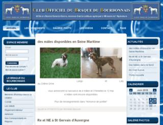 club-braquedubourbonnais.com screenshot