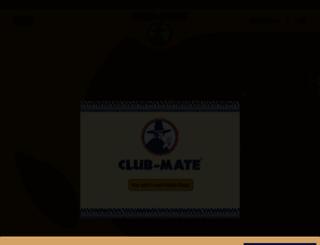 club-mate.de screenshot