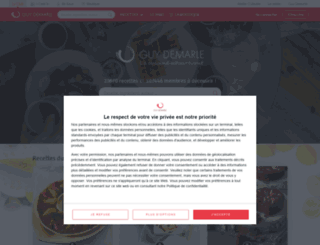 club.guydemarle.com screenshot