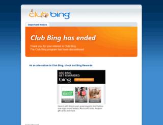 club.live.com screenshot