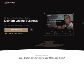 club.selfmade-millionen.de screenshot