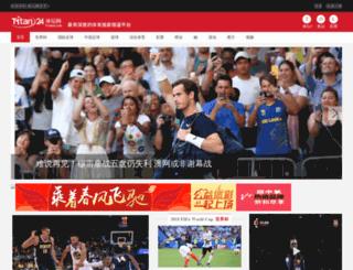 club.titan24.com screenshot