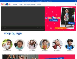 club.toysrus.co.uk screenshot