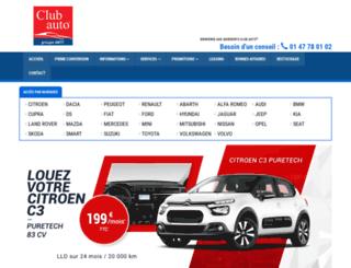 clubauto.fr screenshot
