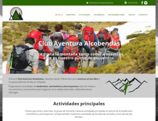 clubaventuraalcobendas.es screenshot