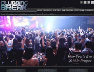clubbingbreak.com screenshot