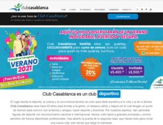 clubcasablanca.com.mx screenshot