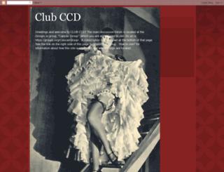 clubccd.blogspot.ie screenshot