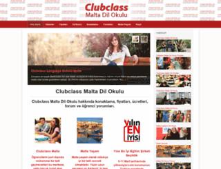 clubclassmaltadilokulu.com screenshot