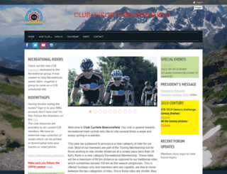clubcycliste.com screenshot