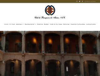 clubdebanqueros.com.mx screenshot