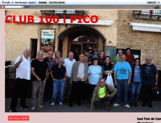 clubdels100ipico.blogspot.com.es screenshot