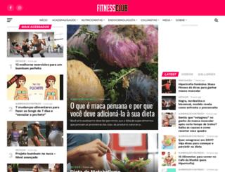 clubdofitness.com.br screenshot