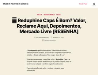 clubecandoca.com.br screenshot
