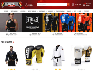 clubedalutashop.com screenshot