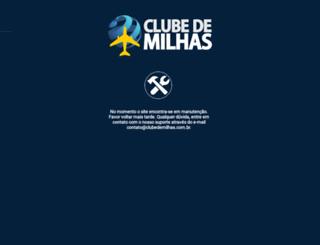clubedemilhas.com.br screenshot