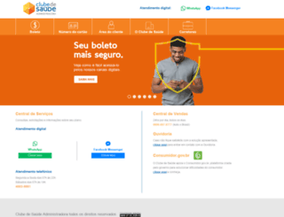 clubedesaudeonline.com.br screenshot