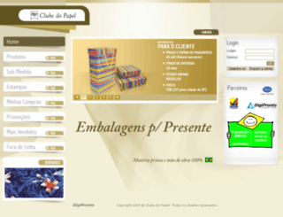 clubedopapel.com screenshot