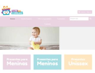 clubedoscorujas.com.br screenshot