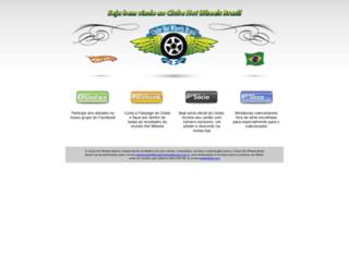 clubehotwheelsbrasil.com.br screenshot