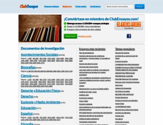 clubensayos.com screenshot