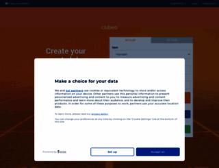 clubeo.com screenshot