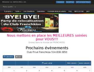 clubfrenchkiss.com screenshot