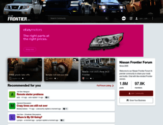 clubfrontier.org screenshot