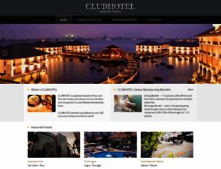 clubhotel.com screenshot