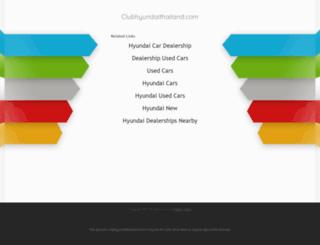 clubhyundaithailand.com screenshot