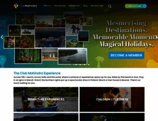 clubmahindra.com screenshot