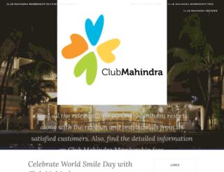 clubmahindra.wordpress.com screenshot