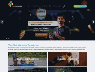 clubmahindrablog.com screenshot