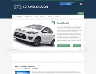 clubmazda.ro screenshot
