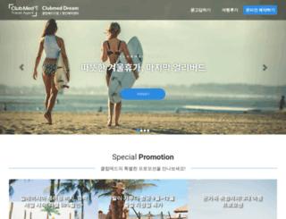 clubmeddream.com screenshot