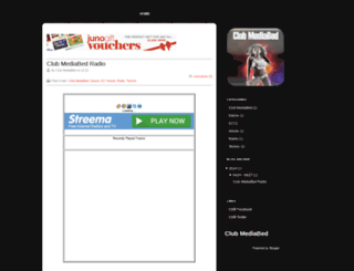 clubmediabed.blogspot.com screenshot