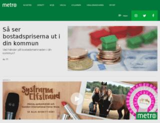 clubmetro.se screenshot