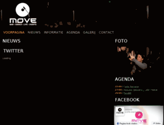 clubmove.nl screenshot