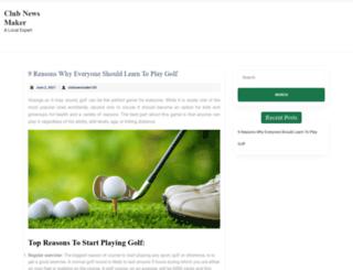 clubnewsmaker.net screenshot