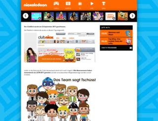 clubnick.de screenshot