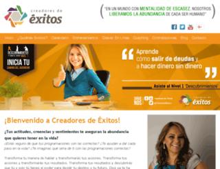 cluboficialcreadores.com screenshot