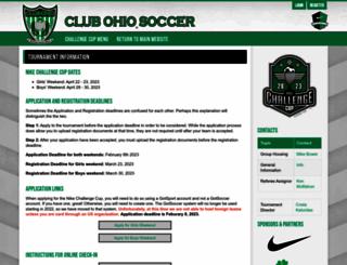clubohiochallengecup.com screenshot