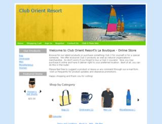 cluborientonline.com screenshot